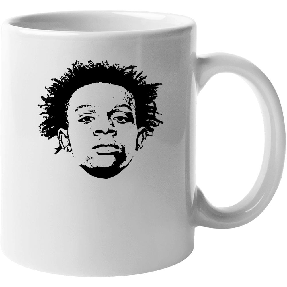 Jaycee Horn Football Draft Pick Fan Mug