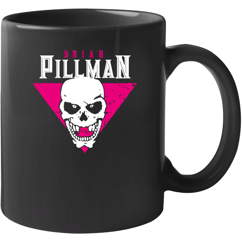 Brian Pillman The Hart Foundation Wrestling Fan Mug