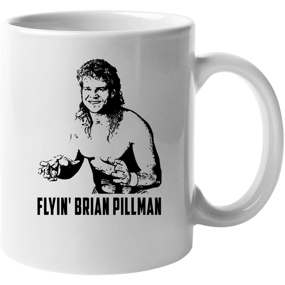 Flyin Brian Pillman Wrestling Pro Wrestler Fan Mug