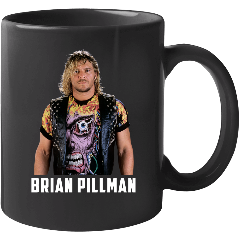 Brian Pillman Wrestler Pro Wrestling Mug