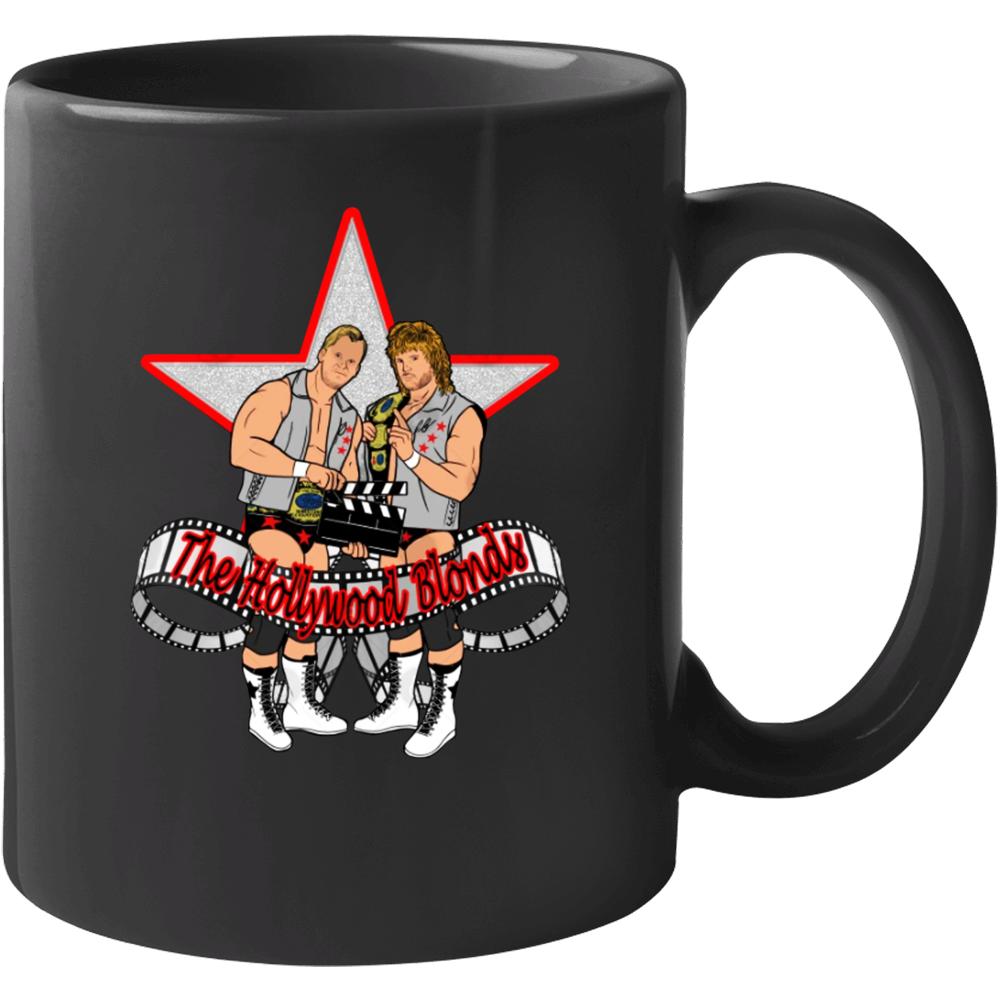 The Hollywood Blonds Steve Austin Brian Pillman Wrestling Fan Mug