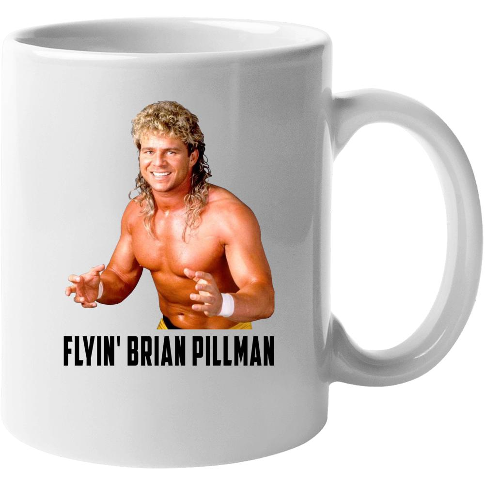 Flyin Brian Pillman Wrestling Fan Mug