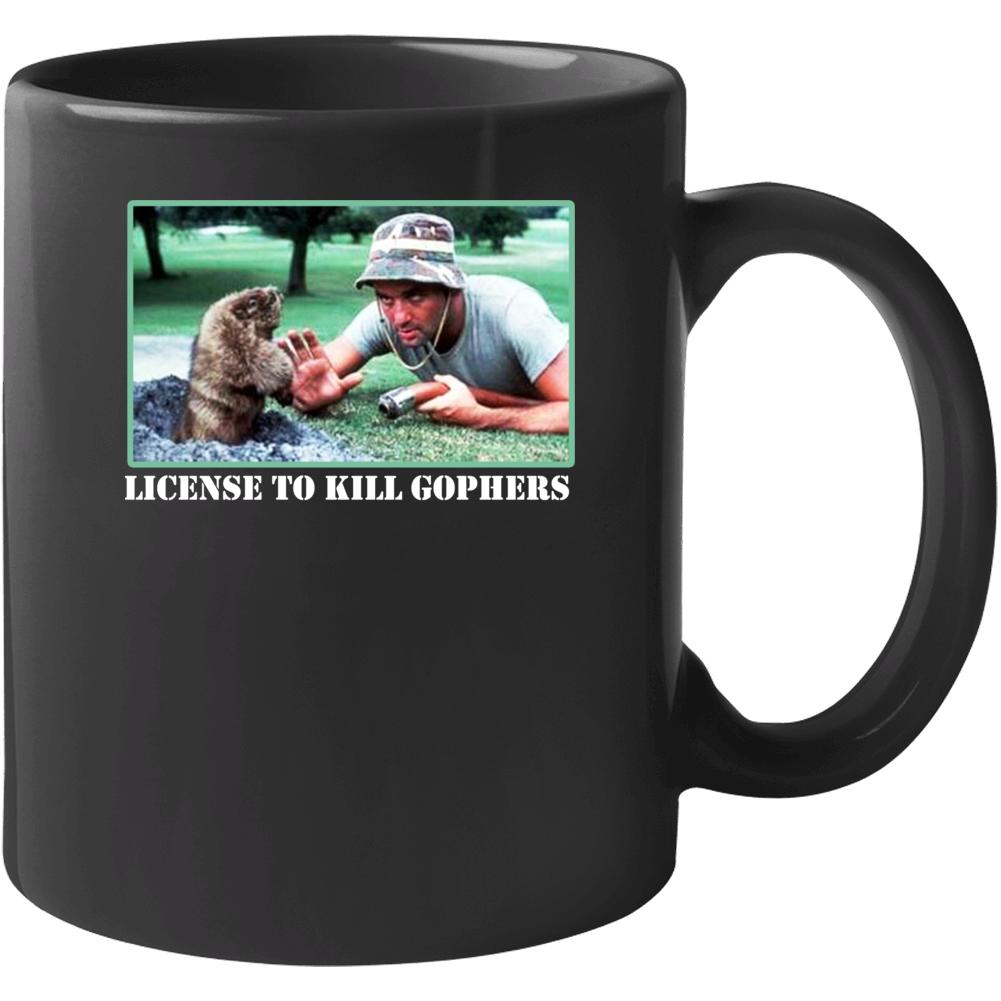 Caddyshack Movie Gophers Comedy Mug