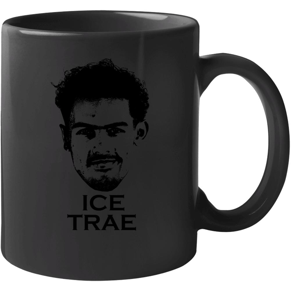 Trae Young Ice Trae Atlanta Basketball Fan Mug