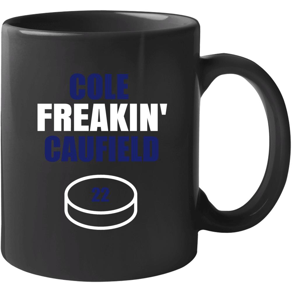 Cole Freakin' Caufield Montreal Hockey Fan Mug