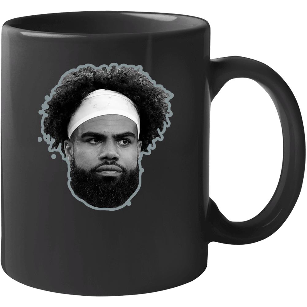 Ezekiel Elliott Dallas Football Cool Fan Mug