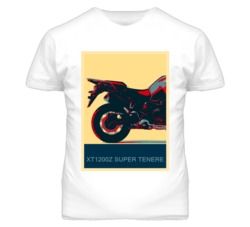 YAMAHA XT1200Z Super Tenere Abstract  Hope Style Motorcycle T Shirt