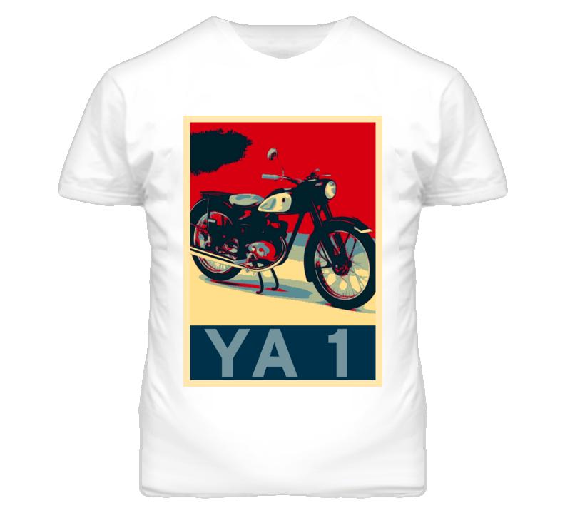 YAMAHA YA 1 Obama Hope Style Motorcycle T Shirt