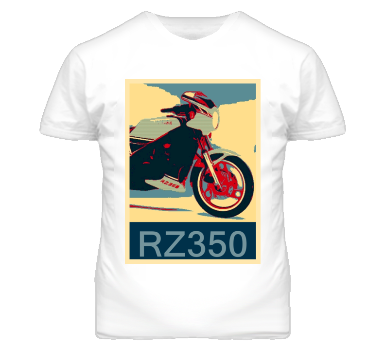 YAMAHA RZ350 Abstract  Hope Style Motorcycle T Shirt