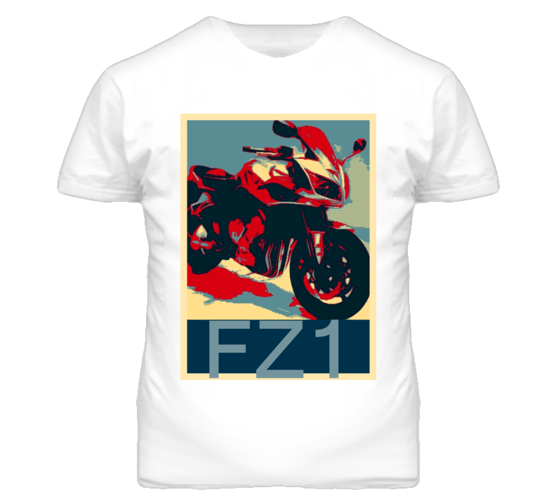 YAMAHA FZ1 Abstract  Hope Style Motorcycle T Shirt