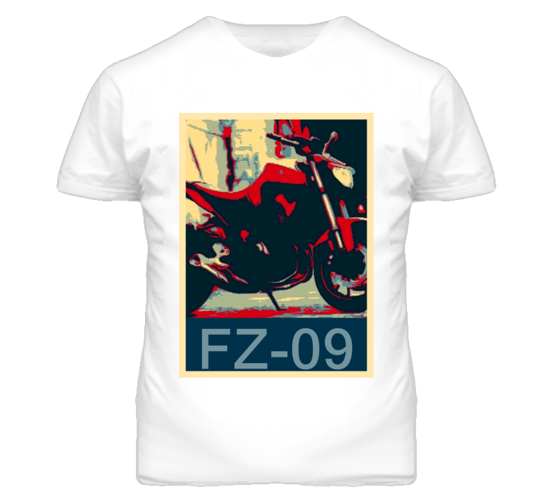 YAMAHA FZ-09 Abstract  Hope Style Motorcycle T Shirt