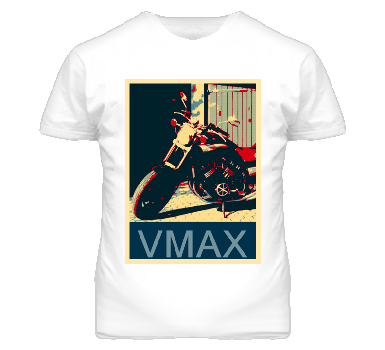 YAMAHA VMax Abstract  Hope Style Motorcycle T Shirt