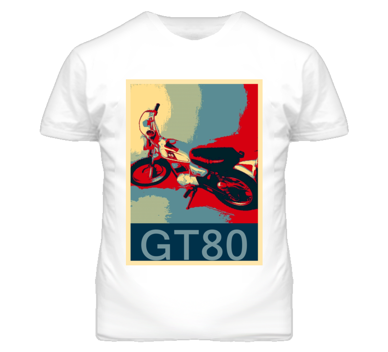 YAMAHA GT80 Abstract  Hope Style Motorcycle T Shirt