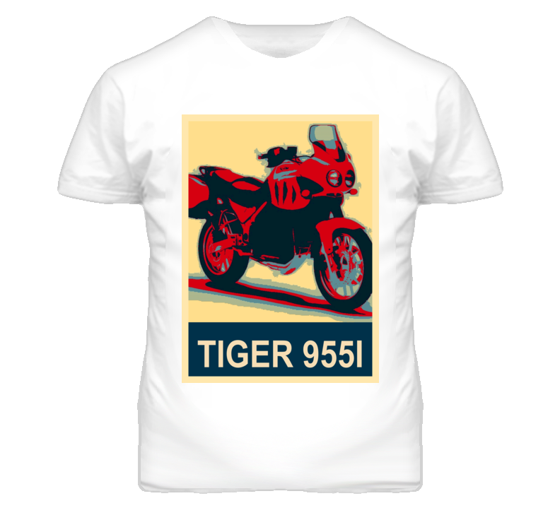 TRIUMPH Tiger 955i Abstract  Hope Style Motorcycle T Shirt