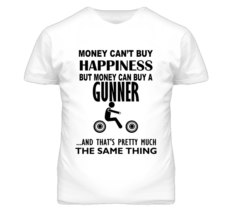 Money Cant Buy Happiness But It Can Buy A Victory Gunner Motorcycle T Shirt