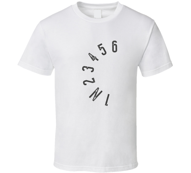 Gear Shift Pattern To Six Funny Motorcycle Light Color T Shirt