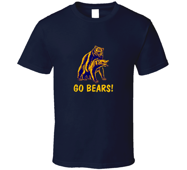 Go Bears Going at it Gay T Shirt
