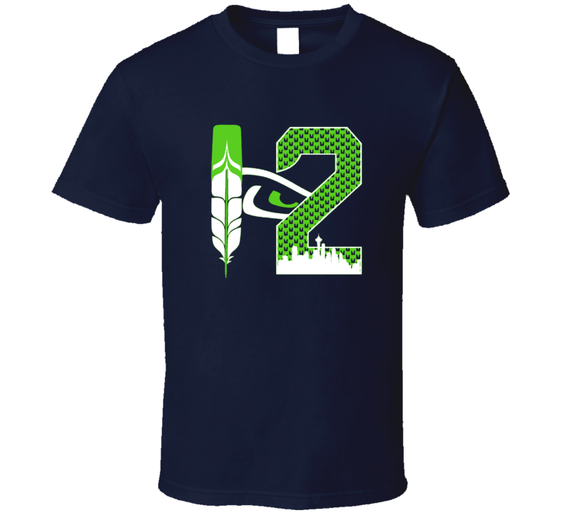 Cool T Shirt for Seattle Blue Friday Evoking Seahawks 12th Man Best Fans