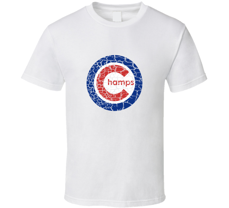 Chicago Baseball Logo Parody T Shirt Champs 2016 World Champs This is Next Year