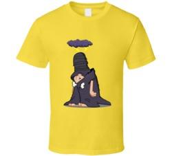Flintstone Bad Luck Fate Schleprock Funny T Shirt