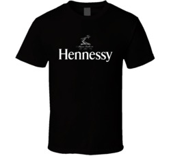 Hennessy Logo Dark  T Shirt