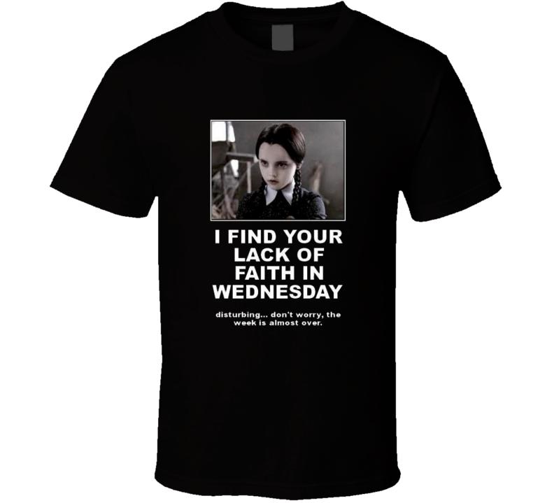 wednesday speak  T Shirt