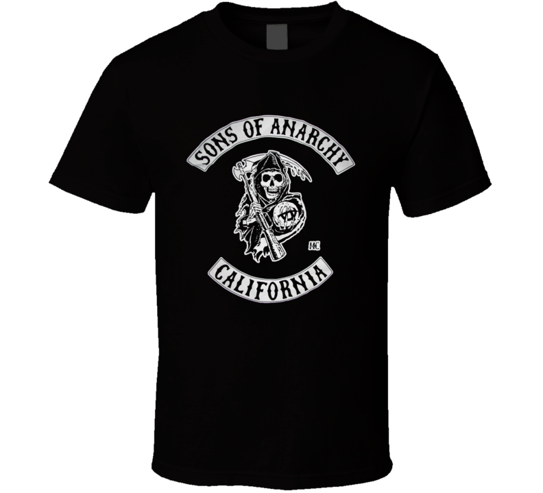 Retro Violant Son Of Anarchy Ultimate Logo T Shirt