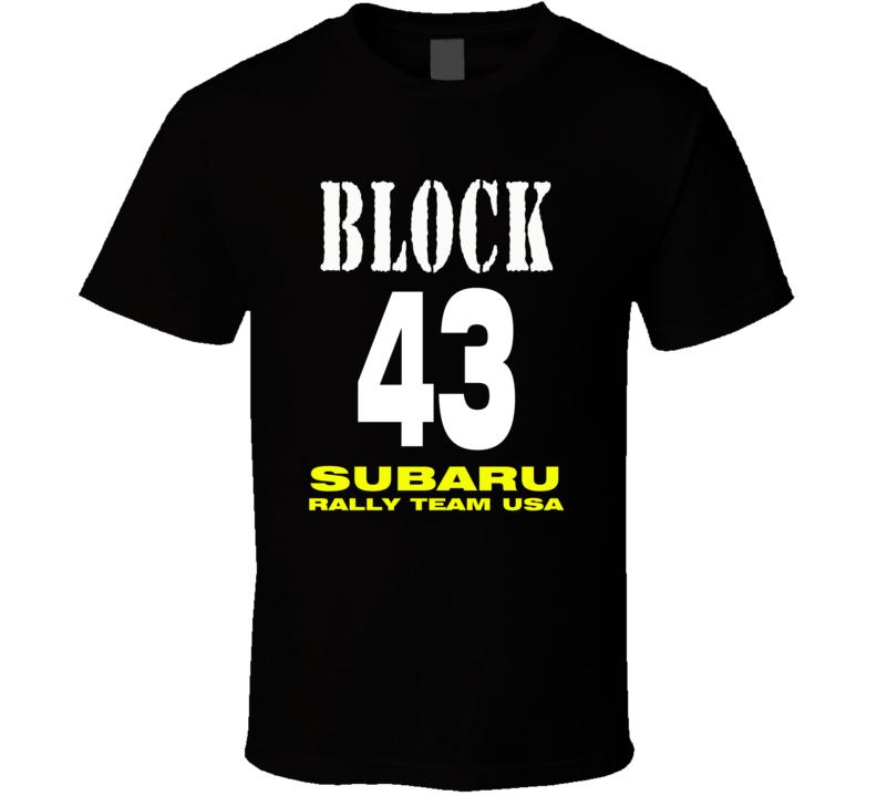 Block 43 Subaru Hot Style T Shirt