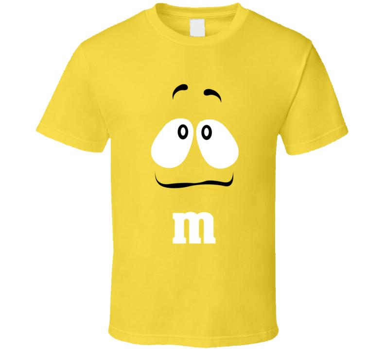 M&ms Yellow Character  T Shirt