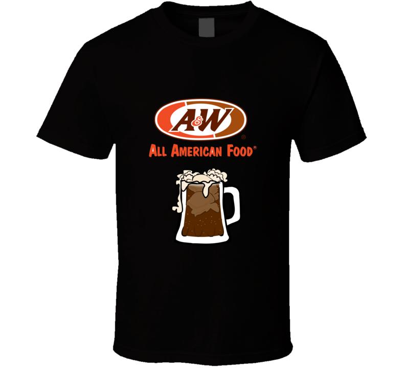 A &W American Food T Shirt