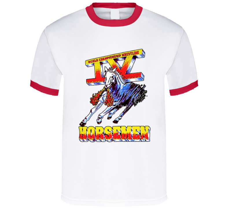 Wcw Four Horsemen Wrestling World Championship  T Shirt