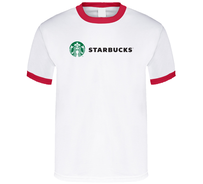 Rockie Starbucks Logo  T Shirt