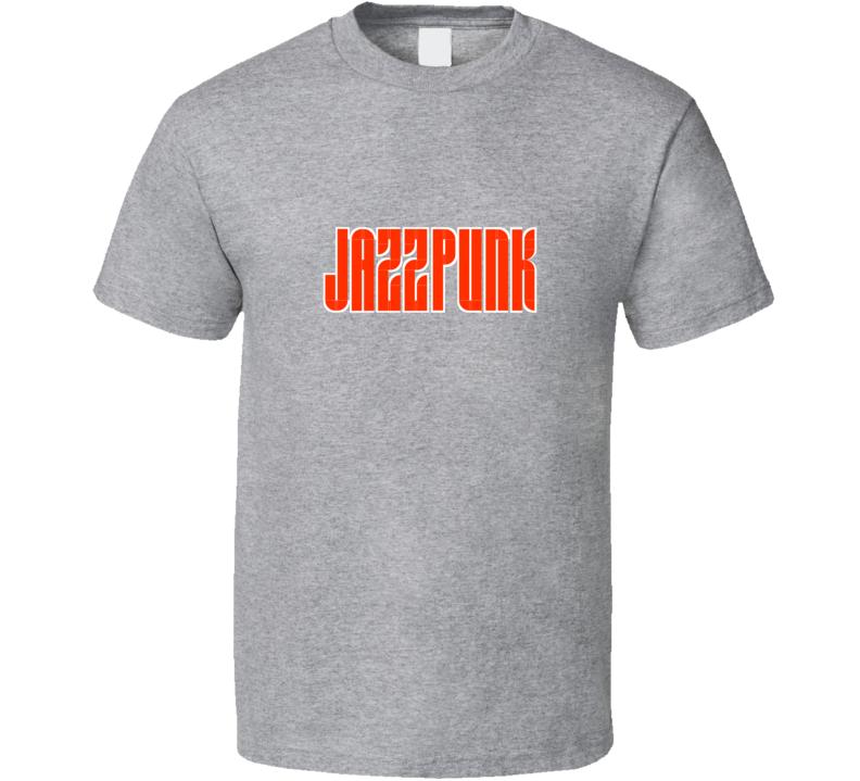 Jazz Punk Music Retro Slow Rock  T Shirt