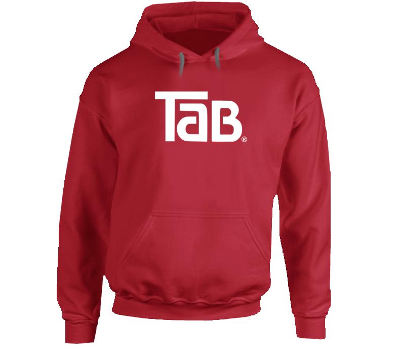 Tab Soda Drink Logo  Hoodie