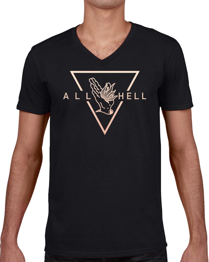 Hot Band Vanna All Hell Album  T Shirt