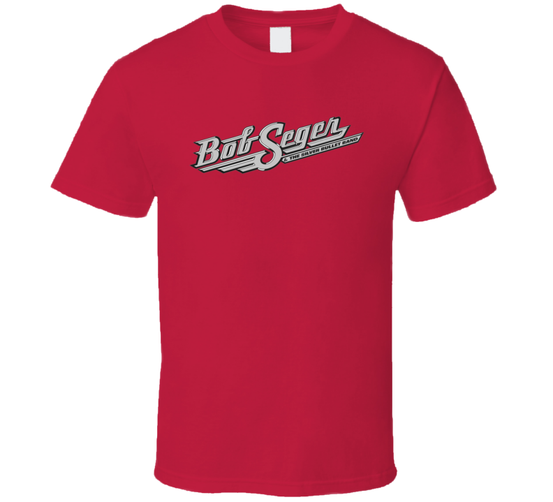 Bob Seger Hot Logo  T Shirt