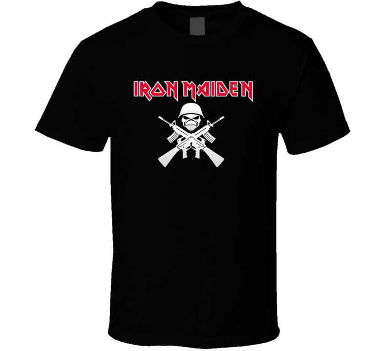 Iron Maiden Weapon Style  T Shirt