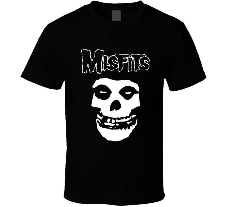 Misfits Skull Logo T Shirt