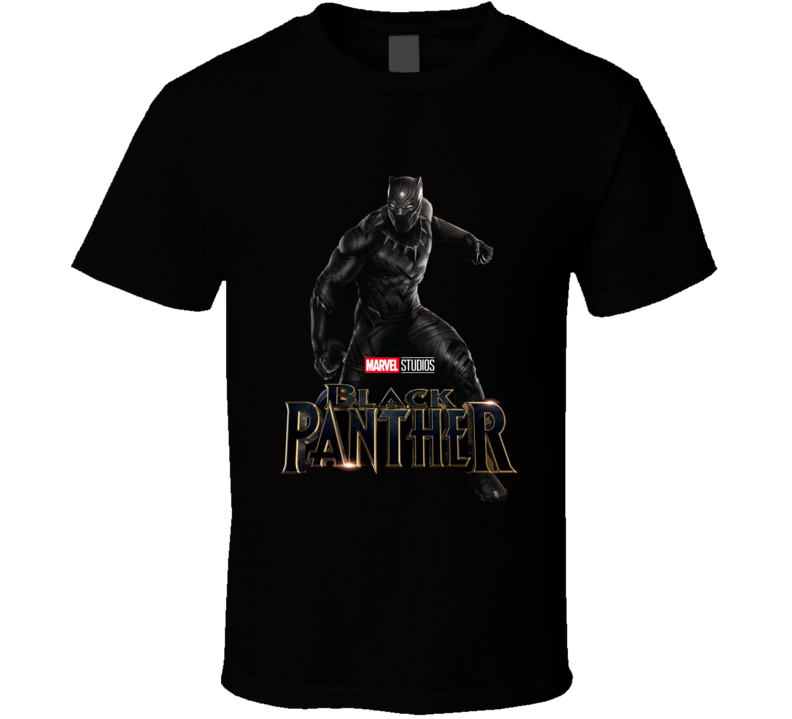 Marvel Studio Balck Panther Hot Sell  T Shirt