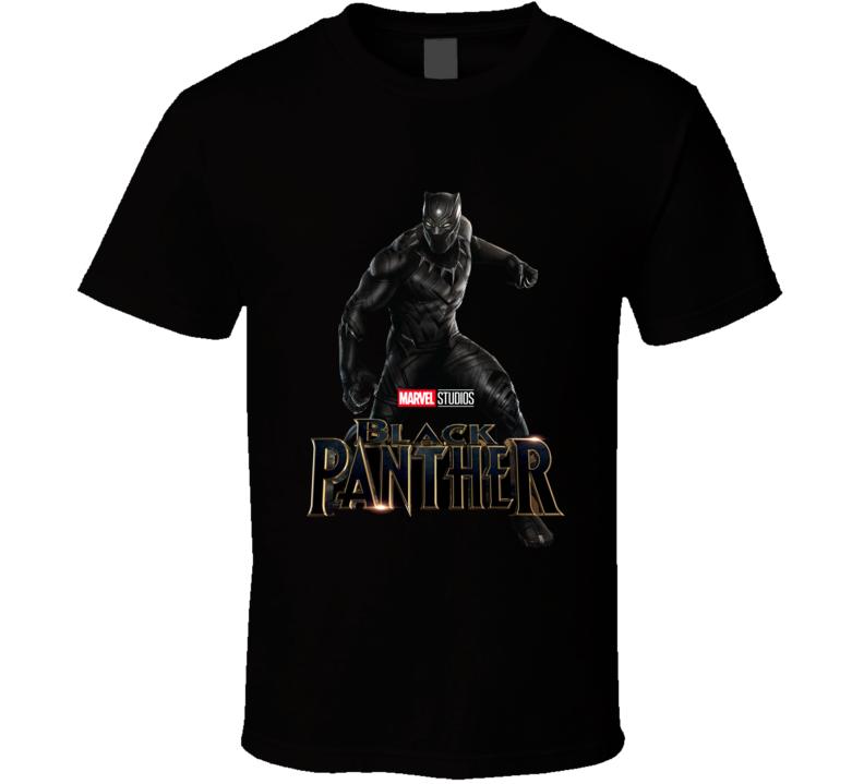 Marvel Studio Black Panther Hot Sell  T Shirt
