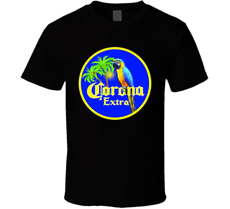 Corona Extra Parrot Style T Shirt