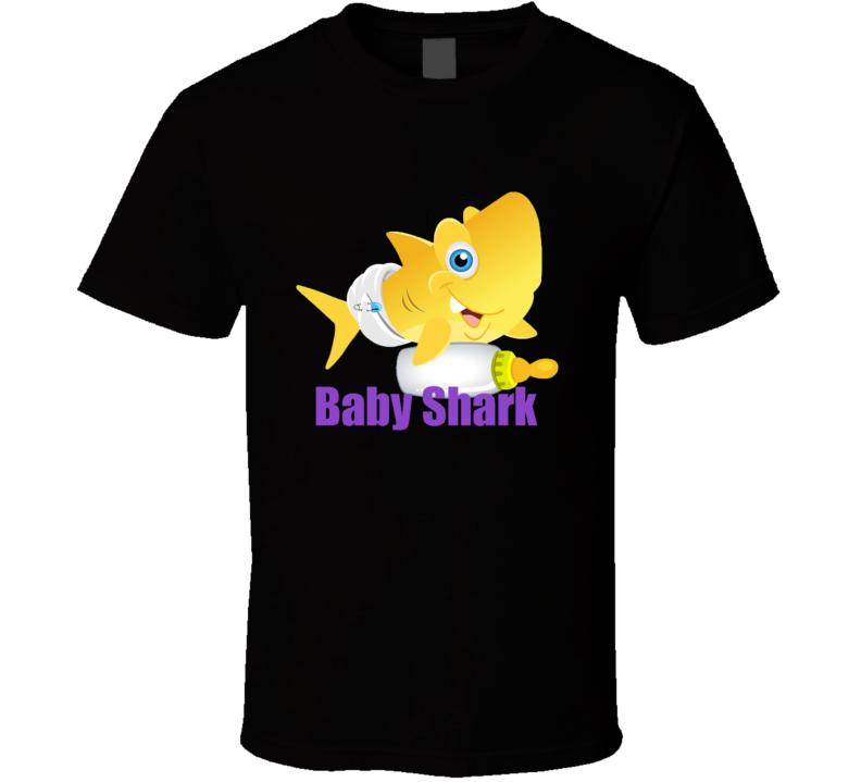 Pink Fong Baby Shark Doo Doo T Shirt