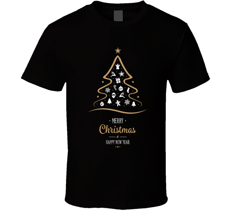 Merry Christmas And Happy New Year Apparel T Shirt