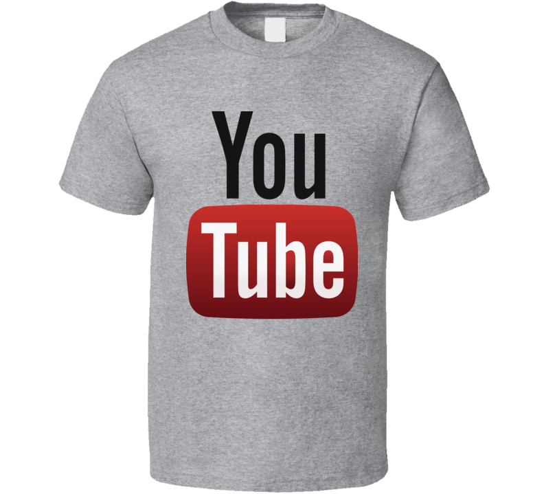 Youtube Hot Logo  T Shirt