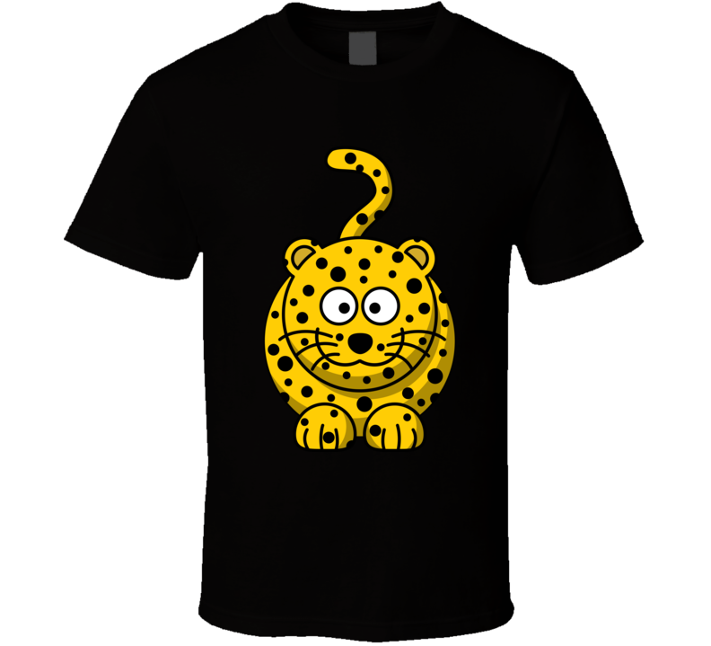 Leopard Tiger Star Style T Shirt