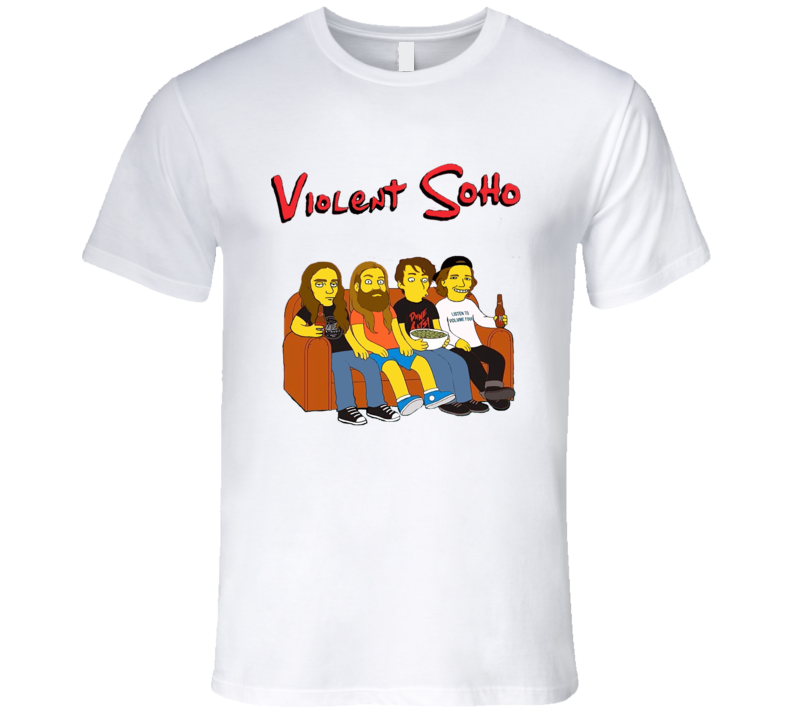Waco Simspson Violent Soho  T Shirt