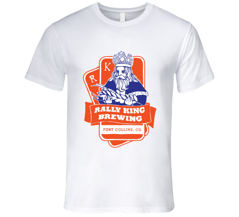 Rally King Brewing Beer King Card T Shirt