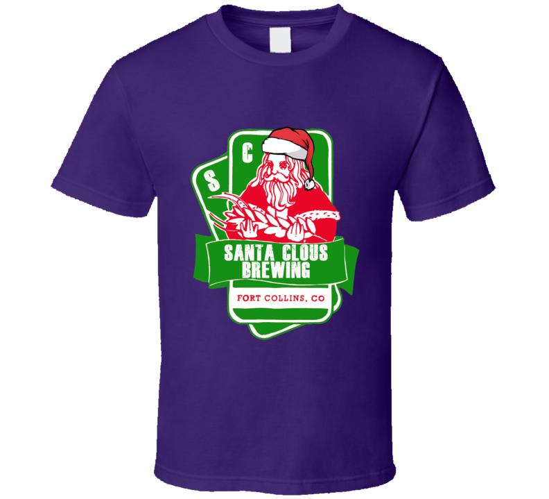 Santa Clous Christmas Gift Parody Funny T Shirt
