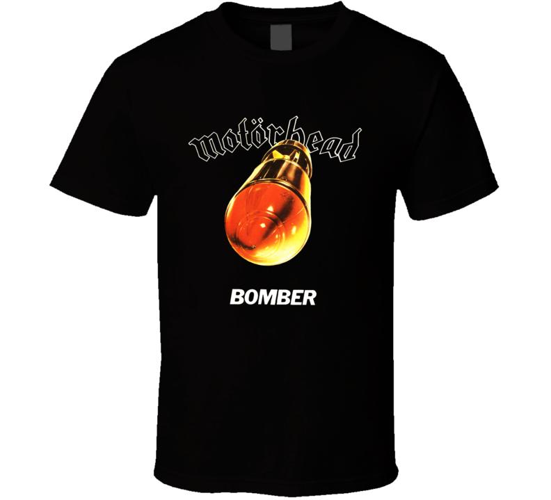 Motorhead Bomber Rocket Missile Album T Shirt