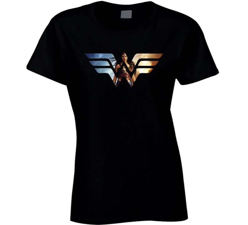 Wonder Woman Hot Style Logo Premium T Shirt
